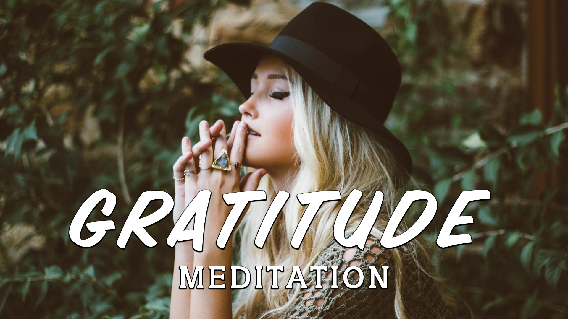 Guided Meditation on Gratitude - Relaxing Music - Attract Abundance & Miracle