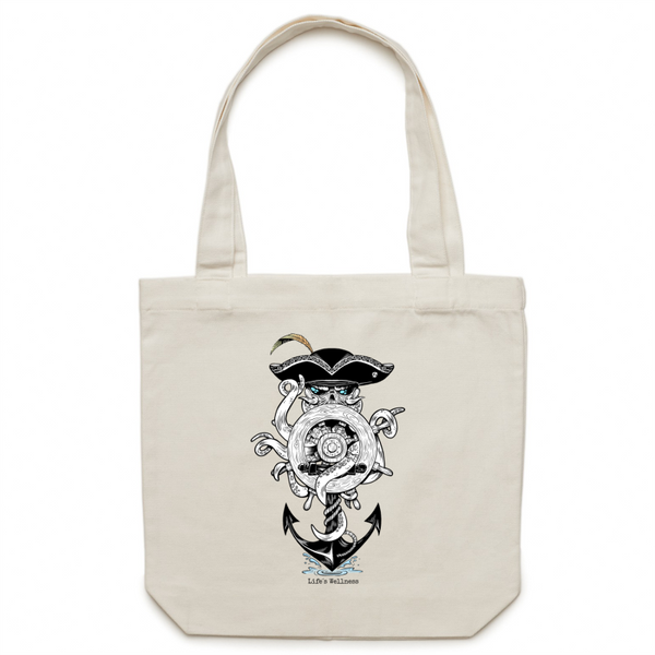 The Captain | Canvas Tote Bag