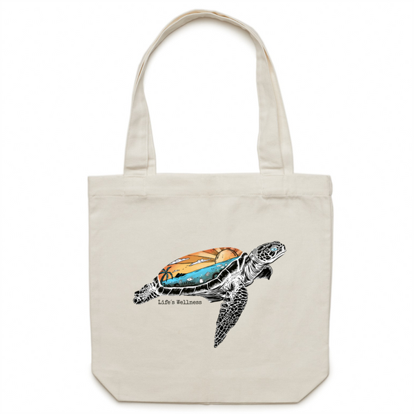 Beneath the Surface | Canvas Tote Bag