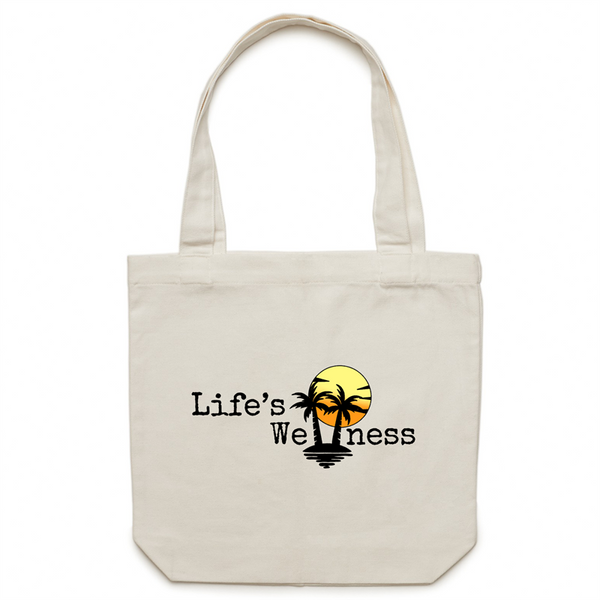 Life's Wellness | Canvas Tote Bag