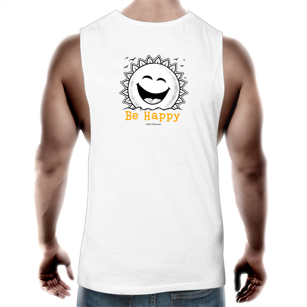 Be Happy | Tank Top Tee