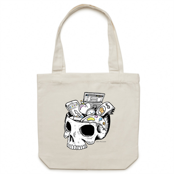 Overloaded | Canvas Tote Bag