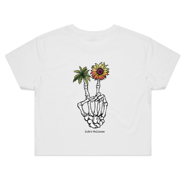 Peace of Compassion | Crop Tee