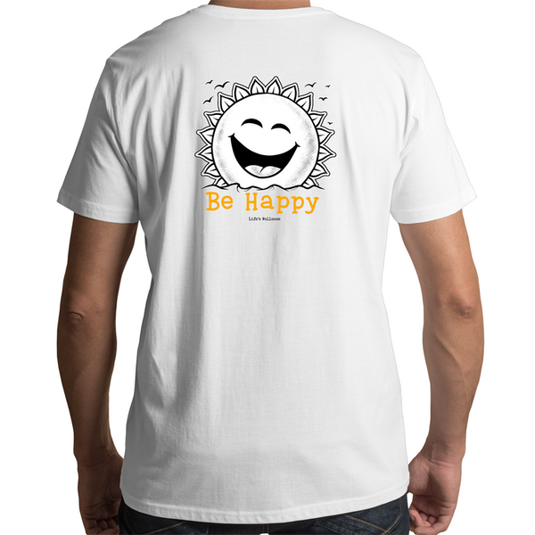 Be Happy | Scoop Neck Tee