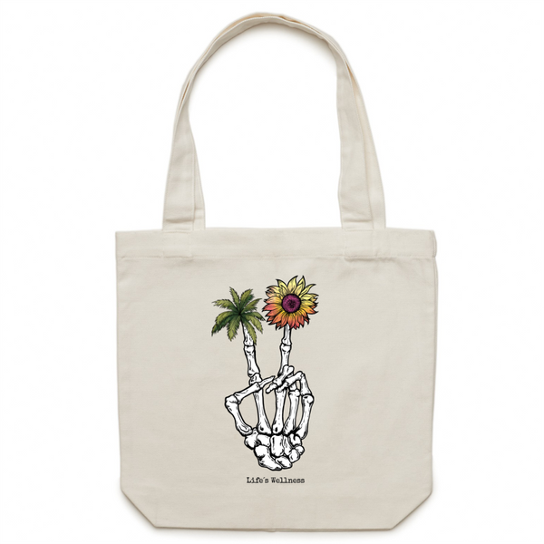 Peace of Compassion | Canvas Tote Bag