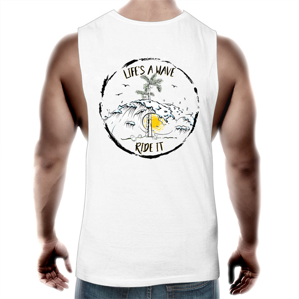 Life's a Wave, Ride It | Tank Top