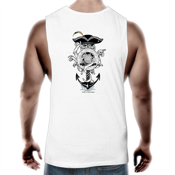 The Captain | Tank Top Tee