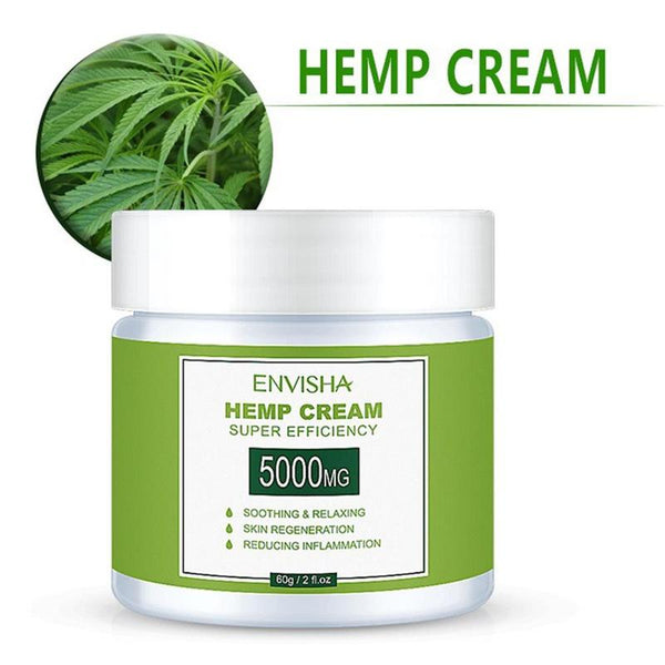 100% Natural Hemp Face Cream (60ml)