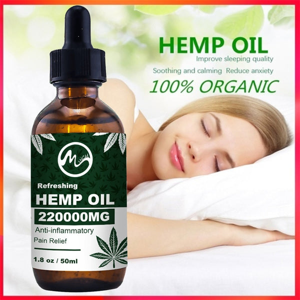 Bio-active Hemp Seed Oil Extract