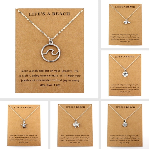 Ocean Life Necklaces