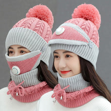 3pcs Women Winter Scarf Set