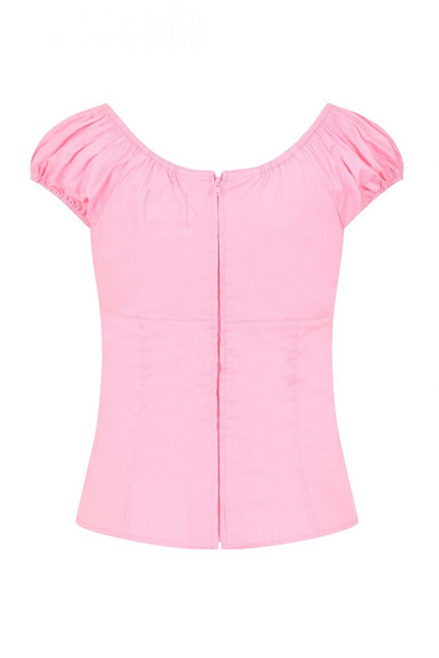 *NEW* Melissa Top: Candy Pink