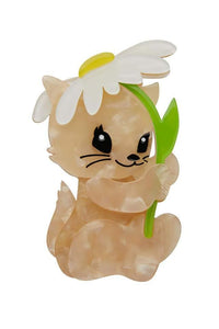 Spring Kitten Brooch