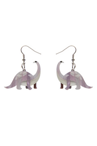 *NEW* I'll be Brach Earrings: Purple