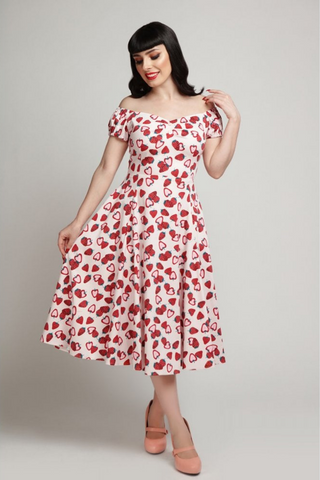 *NEW* Mainline Dolores Strawberry Swing Dress