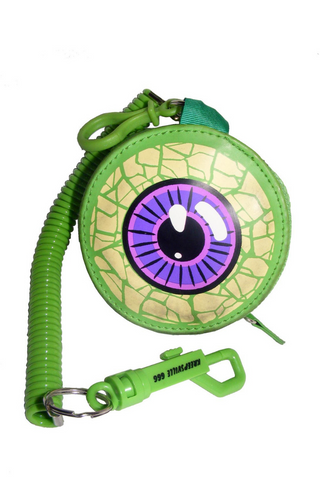 Eyeball Coin Purse (Green)