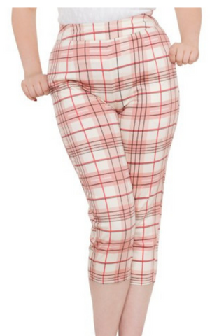 Lola Lou Cropped Retro Trousers