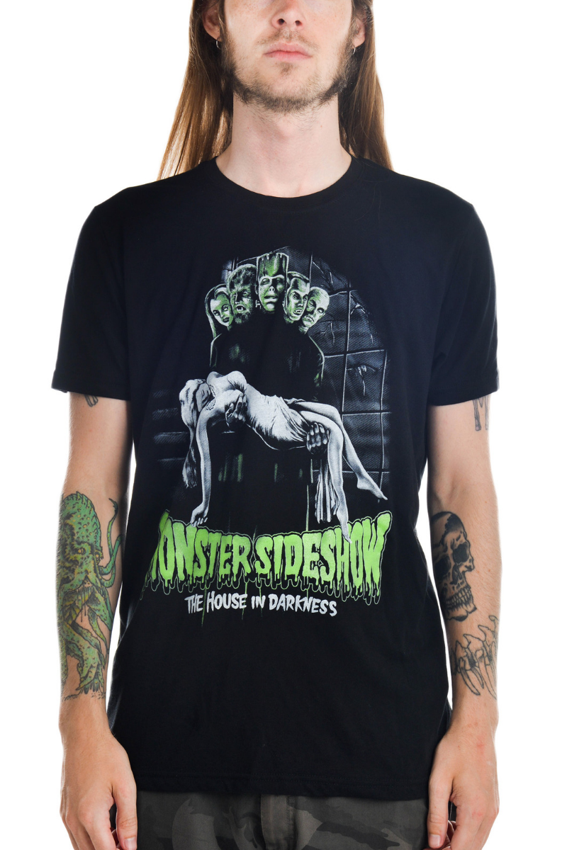 Mens T-Shirt- Monster Sideshow