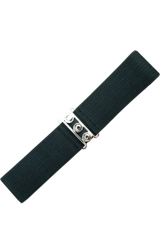 *RESTOCKED* Vintage Stretch Belt: BLACK