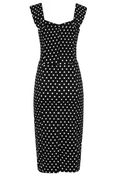 *NEW* Mainline Jill Polka Dot Pencil Dress