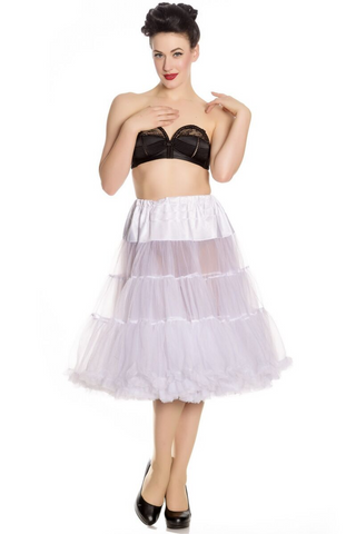 *RESTOCKED* Long Petticoat: White