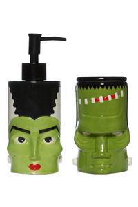 Monster & Bride Bathroom Set