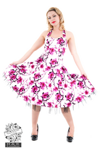 Sakura Blossom Swing Dress
