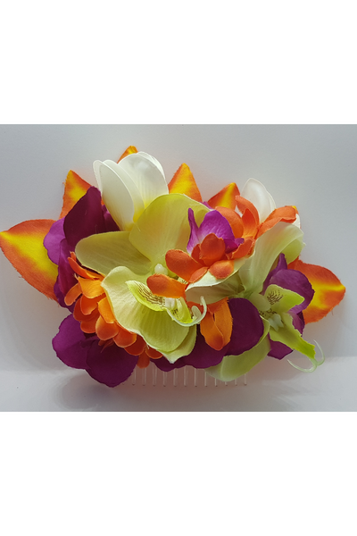 Natalie Hair Flower Slide