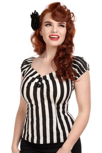 *NEW* Mainline Dolores Striped Top