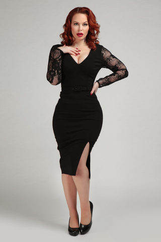 Mainline Germana Lace Pencil Dress