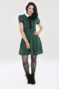 *NEW* Vixey Dress: Green