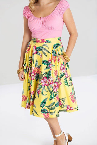 *NEW* Kalani 50's Skirt: yellow