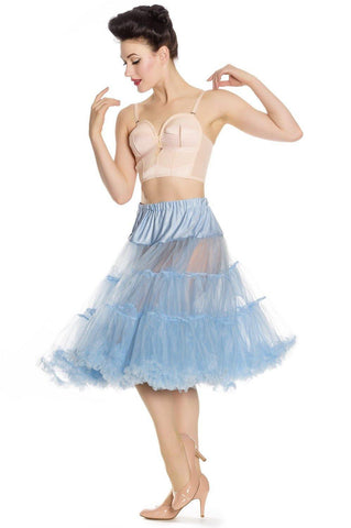Long Petticoat: Sky Blue
