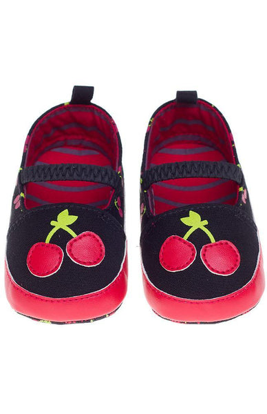 Kids Mary Janes: Cherry
