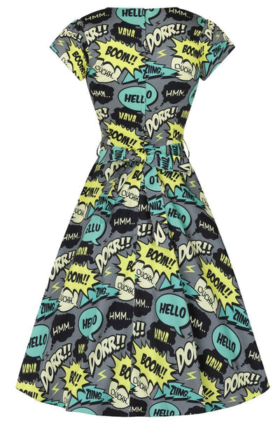 *NEW* Day Dress - Comic Grey