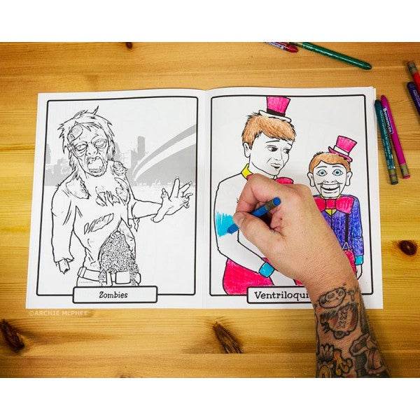 Super Awesome Colouring Book