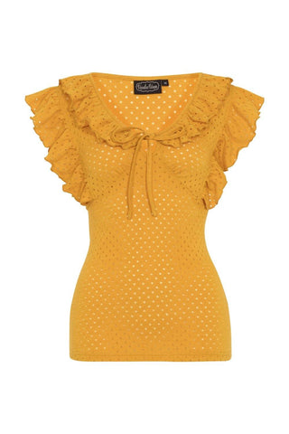 Louis Retro Yellow Top