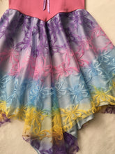Unicorn Fairy Dress Layered Pastel Sherbet with Bubblegum Top