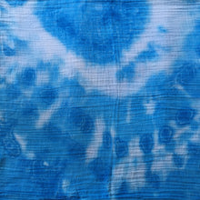 Tie Dyed Muslin Baby Wraps 100% Cotton Blue/White