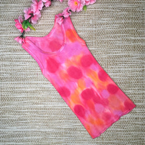 Tie Dyed Singlet Pink/Orange/Red size 000