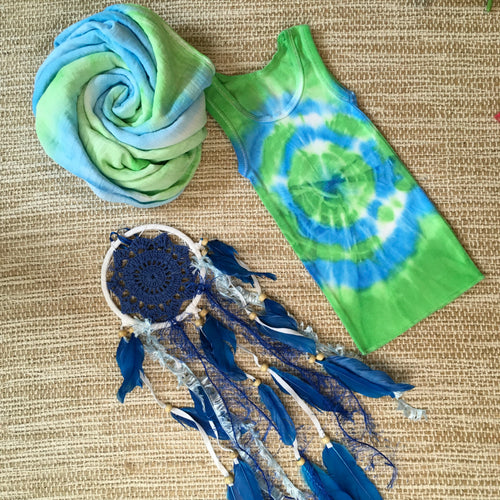 Gift Set Baby Green/Blue