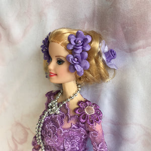 Fairy Doll Purple Lace