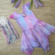 Tie Dyed Fairy Dress Unicorn Girls size 2-12 years