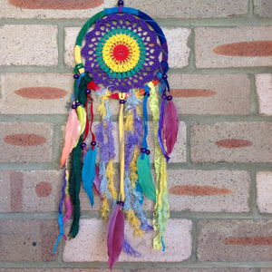 Dreamcatcher Boho Rainbow Colourful