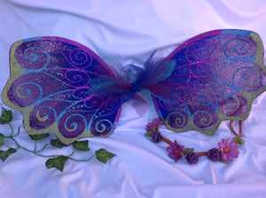 Fairy Wings Purple and Blue