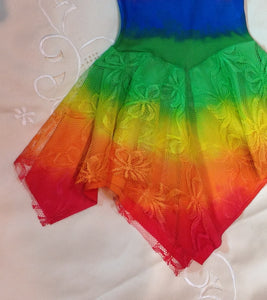 All Rainbow Princess Fairy Dress PURPLE Top Baby