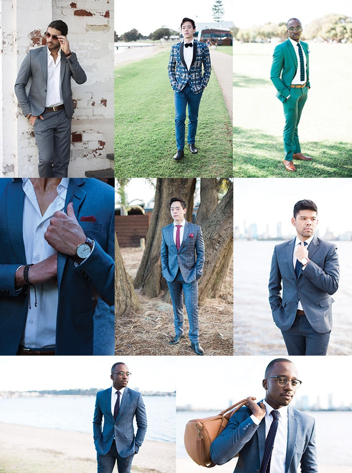 D-Tribe Men Tailored Suits