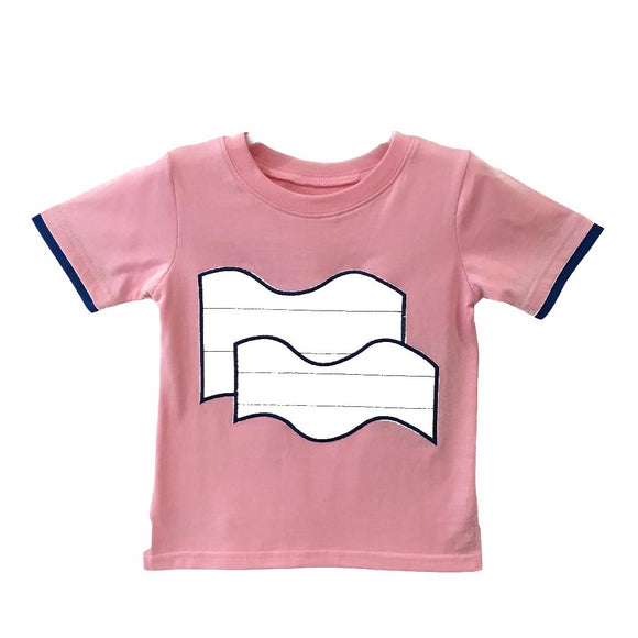 Wave  |  T-Shirts | Pink
