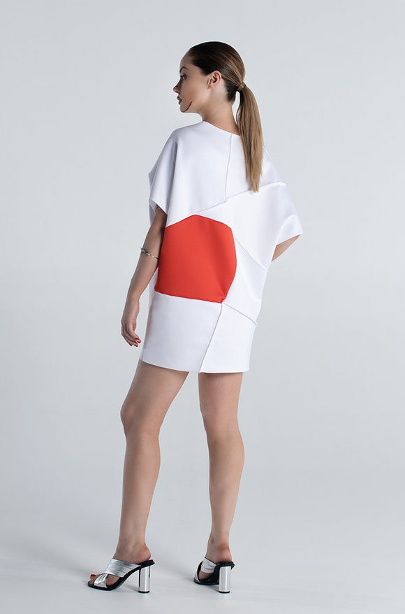 Isosceles Oversized Top - White
