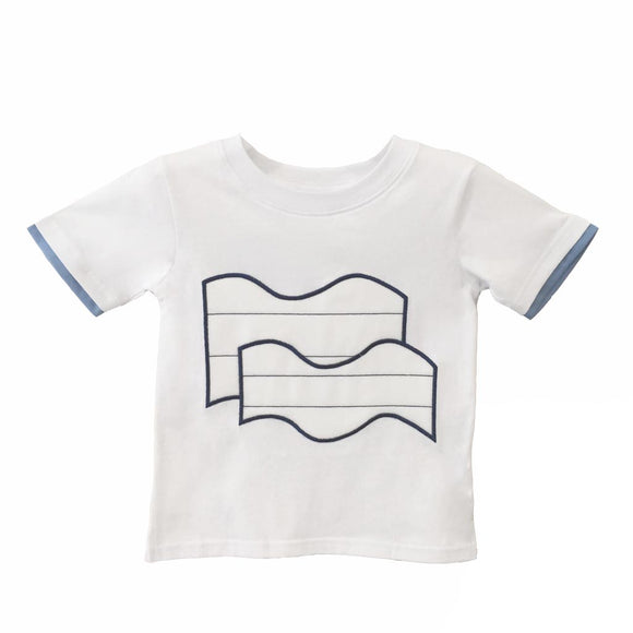 Wave  |  T-Shirts | White